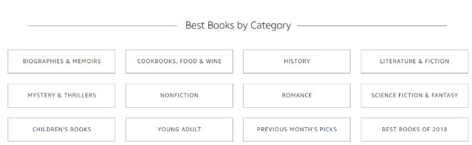 Amazon category